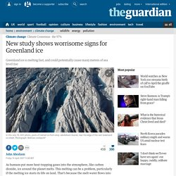 Worrisome signs for Greenland ice