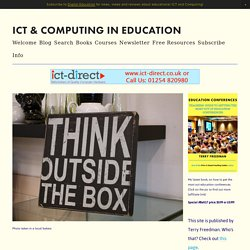 A worrying aspect of the fake news problem — ICT & Computing in Education