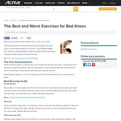 The Best and Worst Exercises for Bad Knees - ACTIVE.com
