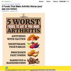 5 Worst Foods To Eat If You Have Arthritis