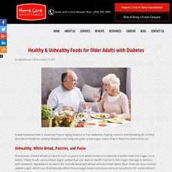 Best & Worst Foods for Elderly Diabetics