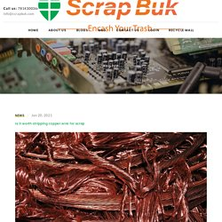 Is it worth stripping copper wire for scrap