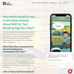 How much would it cost to develop Amazon Alexa Skill for Taxi Booking App like Uber