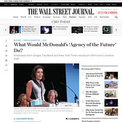 What Would McDonald's 'Agency of the Future' Do?