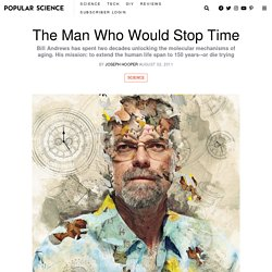 The Man Who Would Stop Time
