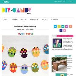 Wielkanocny girland - pisanki symetryczne kolorowe