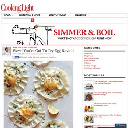 Wow! You've Got To Try Egg Ravioli