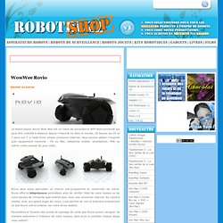 WowWee Rovio | RobotBuzz Shop