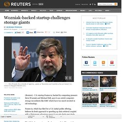 Wozniak-backed startup challenges storage giants