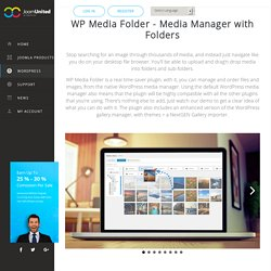WP Media Folder, WordPress folder in media