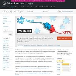 Wp-Recall — WordPress Plugins
