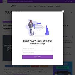 WPForms Giveaway - Win 3 WPForms Pro Licenses