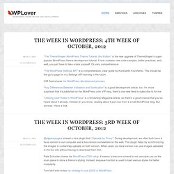 WPLover | WordPress Theme Design and Development