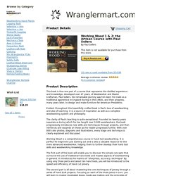 Wranglermart.com - Working Wood 1 & 2: the Artisan Course with Paul Sellers