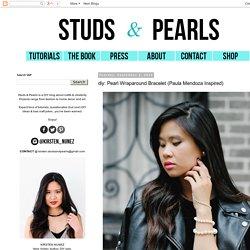 Pearl Wraparound Bracelet (Paula Mendoza Inspired)