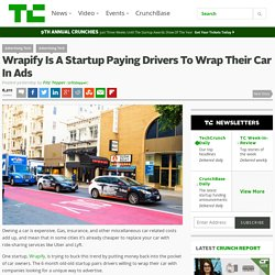 Wrapify Is A Startup Paying Drivers To Wrap Their Car In Ads