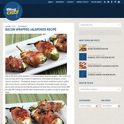 Bacon Wrapped Jalapenos Recipe | Free Online Recipes | Free Recipes - (Private Browsing)