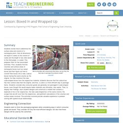 Boxed In and Wrapped Up - Lesson