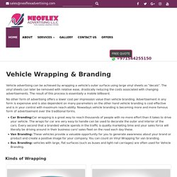 Need Wraps for Car?
