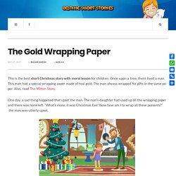 The Gold Wrapping Paper - Bedtimeshortstories