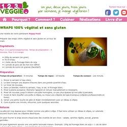 WRAPS 100% végétal et sans gluten1.2.3. Veggie