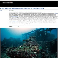 Wreck Diving the Mysterious Ghost Fleet of Truk Lagoon [33 PICS]