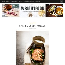 Wrightfood - recipes, food photography and culinary adventures