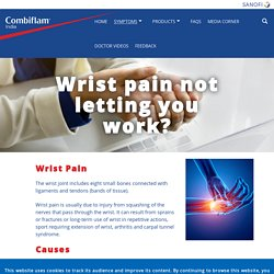 Wrist Pain Causes and Relief – Combiflam IcyHot