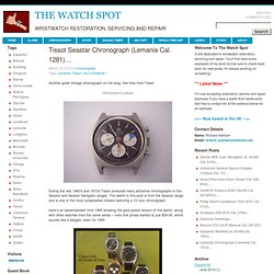 Wristwatch restoration, servicing and repair