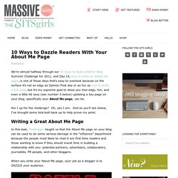 How to Write an About Me Page that Stands Out From the Crowd