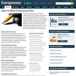 Top 10 business plan writing services