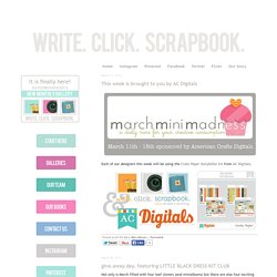 Write. Click. Scrapbook.: Mini-Albums