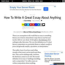 write an essay about anything Have you ever thought of coming to us and say 'may one of your writers please help me write my not have to worry about anything at write my essay write my.