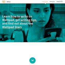 Write on Wattpad
