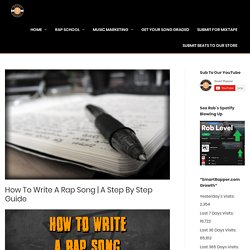 How To Write A Rap Song
