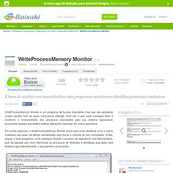 WriteProcessMemory Monitor download