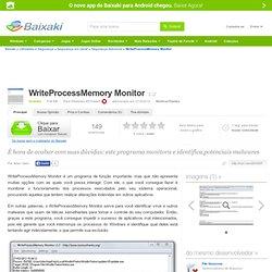 WriteProcessMemory Monitor download