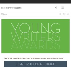 Young Writers Awards