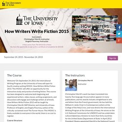 How Writers Write Fiction 2015