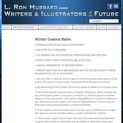 Writer Contest Rules