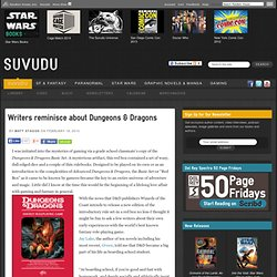 Writers reminisce about Dungeons & Dragons - Suvudu - Science Fi