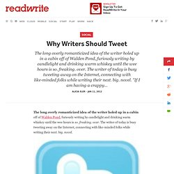 Why Writers Should Tweet