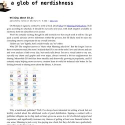 Writing about D3.js - a glob of nerdishness