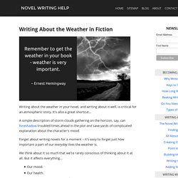 Writing About the Weather