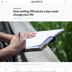 Writing Morning Pages can offer many of the same benefits as meditation — Quartz