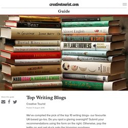 Top Writing Blogs - Creative Tourist