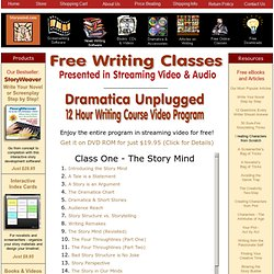 Free Writing Classes in Streaming Video
