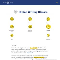 online writers workshop