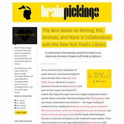 The Best Books on Writing, NYC, Animals, and More: A Collaboration with the New York Public Library