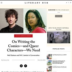 On Writing the Comics—and Queer Characters—We Need